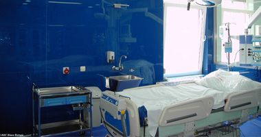Glas im Innenausbau: Antibakterielles Glas
