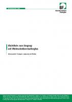 BF Merkblatt Richtlinie zum Umgang mit Mehrscheiben-Isolierglas