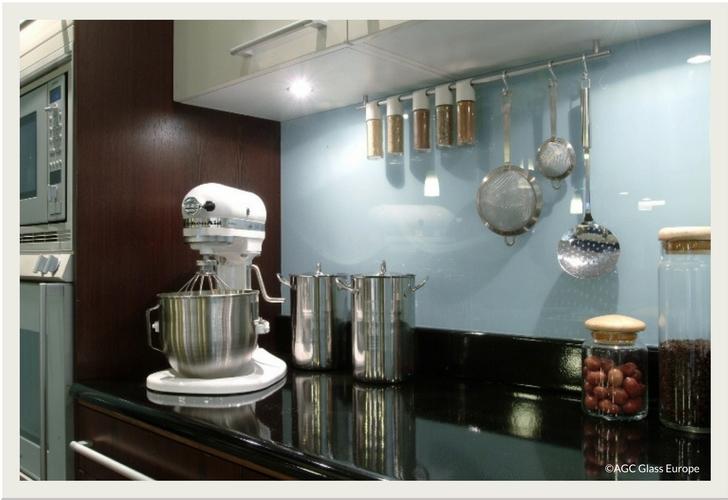 Küchenrückwand AGC Glass Europe
