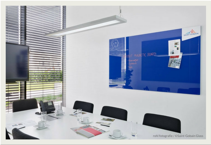Decolit Magnetic Board - lackiertes Glas als Pinnwand
