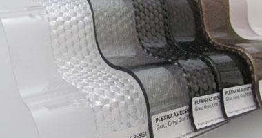 Plexiglasmuster Wellplatten