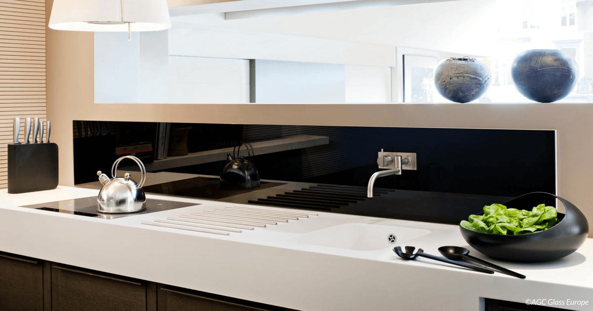 Küchenglas • Küchenrückwand • Arbeitsplatte • Fotodruck