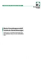 BF Info Muster-Verwaltungsvorschrift TB
