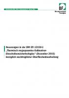 BF Information DIN EN 12150